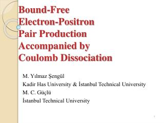 Bound-Free  Electron-Positron  Pair Production  Accompanied by Coulomb Dissociation