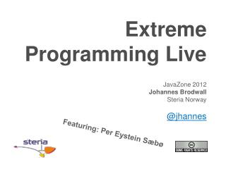Extreme Programming  Live