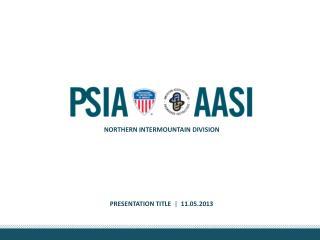 PRESENTATION Title |   11.05.2013