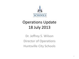 Operations Update 18 July 2013
