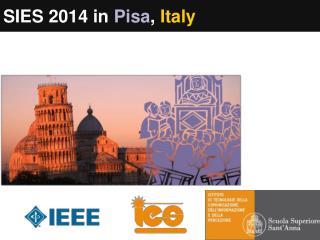 SIES 2014 in  Pisa ,  Italy
