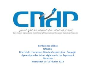 Conf�rence-d�bat UNESCO Libert� de connexion, libert� d�expression : �cologie