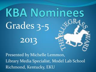 KBA Nominees