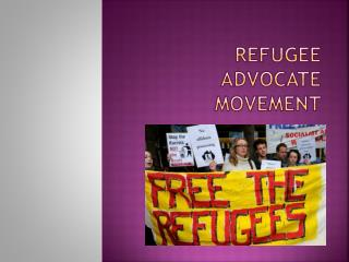 Refugee Advocate Movement