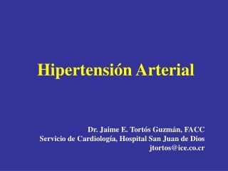 Hipertensi n arterial Enfermedad polig nica y multifactorial