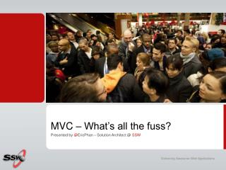 MVC – What's all the fuss?