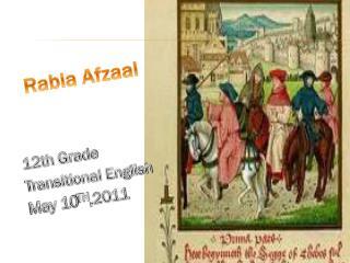 Rabia Afzaal