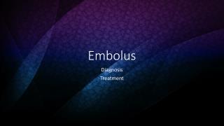 Embolus