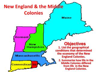 New England & the Middle Colonies