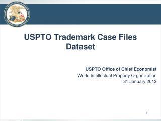 USPTO Trademark Case Files Dataset
