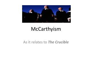 McCarthyism