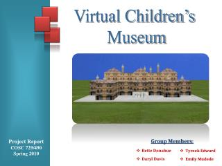 Virtual Children's  Museum