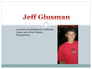 Jeff  Glusman