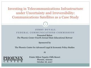 Jerry Duvall Federal communications commission