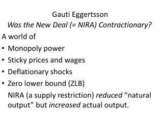 Gauti Eggertsson