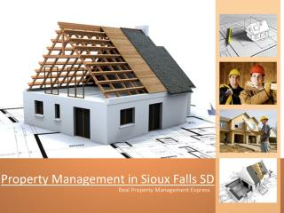 Choosing a Good Property Management Company in Sioux Falls SD
