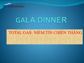 GA LA DINNER