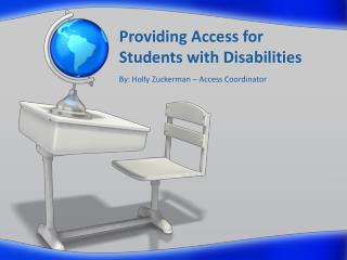 Providing Access for Students with Disabilities