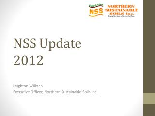 NSS Update  2012