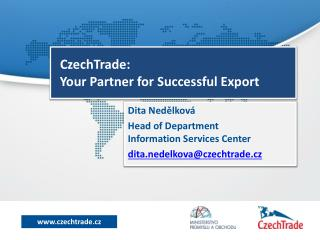 CzechTrade: Your Partner for Successful Export