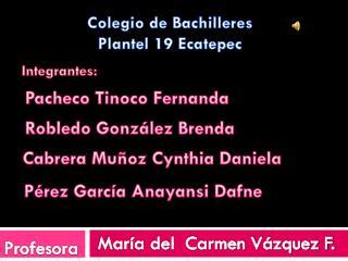Colegio de Bachilleres Plantel 19 Ecatepec