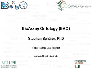BioAssay  Ontology (BAO )