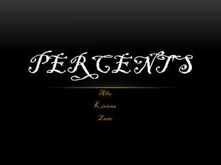 Percent's
