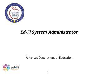 Ed-Fi System Administrator