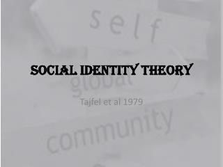 Social Identity Theory