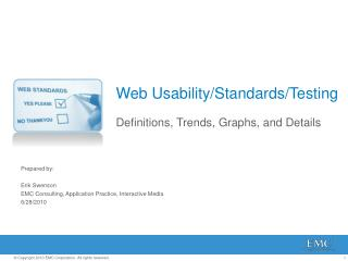 Web  Usability/Standards/Testing