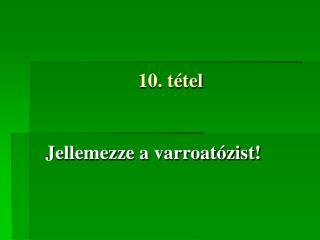 10. t tel