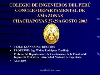 EL LEAN CONSTRUCTION UNA NUEVA FILOSOF
