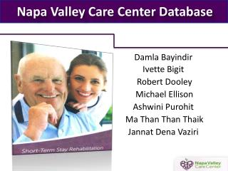 Napa Valley Care Center Database