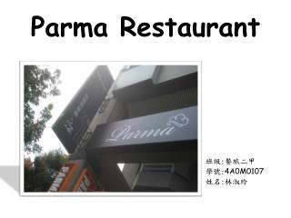 Parma Restaurant
