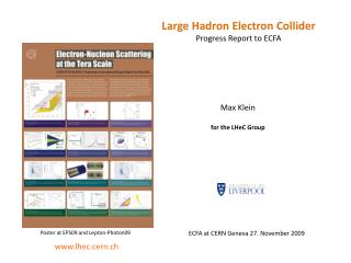 Large  Hadron  Electron Collider  Progress Report to ECFA