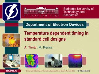 Temperature dependent  timing  in standard cell designs
