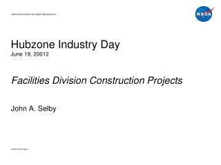 Hubzone  Industry Day June 19, 20012