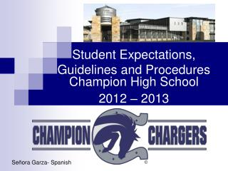 Student  Expectations, Guidelines and Procedures
