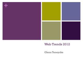 Web Trends 2012