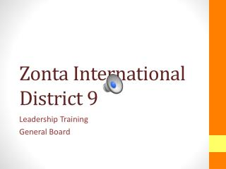 Zonta International District 9