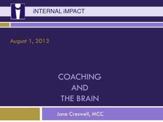 Coaching  and The Brain