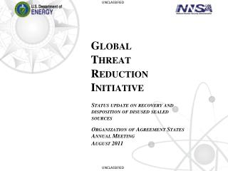 Global  Threat  Reduction  Initiative