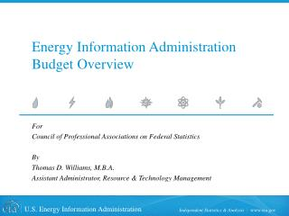 Energy Information Administration Budget Overview
