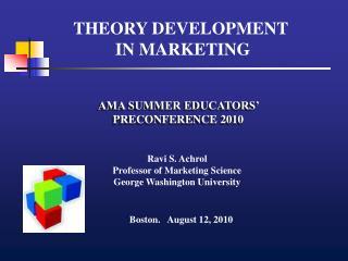 AMA SUMMER EDUCATORS' PRECONFERENCE 2010