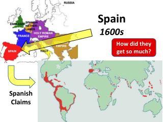 Spain  1600s