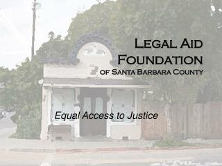 Legal Aid Foundation of Santa Barbara County