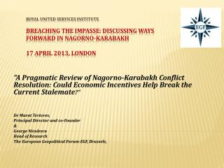 THE FULL RESEARCH PAPER available on http://gpf-europe.com/