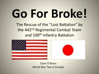 Go For Broke!