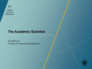 The  Academic  Scientist