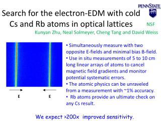 Search for the electron-EDM with cold Cs and  Rb  atoms in optical lattices